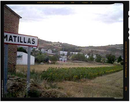 Entrada a Matillas desde Mandayona